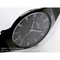 SKAGEN/スカーゲン | 233XLTMB  デンマークが誇る極上のスリム腕時計  ブランドを代...