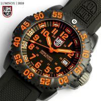 LUMINOXルミノックス ネイビーシールズ カラーマークシリーズ 腕時計 オレンジ 3059極限の...
