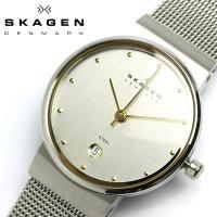 SKAGEN/スカーゲン | 355LGSC メンズ デンマークが誇る極上のスリム腕時計ウルトラスリ...