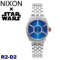 ニクソン NIXONスターウォーズ コラボモデル R2-D2 スモールタイムテラー シルバー×ブルー...