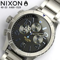 NIXON ニクソン メンズ 腕時計 48-20 クロノ クォーツ A486-1529『48-20』...