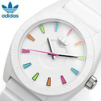 【ADIDAS/アディダス】 腕時計 SANTIAGO ホワイト×マルチ ユニセックス ADH291...