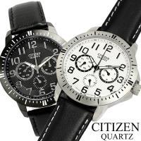 シチズン CITIZEN QUARTZ Day-Date Sports メンズ 腕時計 AG831 ...