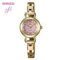 SEIKO セイコー ワイアード レディース 腕時計 AGED044女性らしい柔らかなラウンドフェイ...