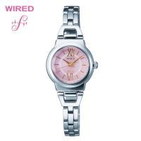 SEIKO セイコー ワイアード レディース 腕時計 AGED050女性らしい柔らかなラウンドフェイ...