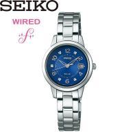【SEIKO WIRED】 セイコー ワイアード 腕時計  5気圧防水 AGAD081 表情豊かなダ...