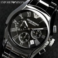 EMPORIO ARMANI エンポリオアルマーニ クロノグラフ メンズ 腕時計 AR1400アルマ...