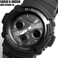 CASIO(カシオ) G-SHOCK(ジーショック)腕時計 AWG-M100B-1A Gショック 電...