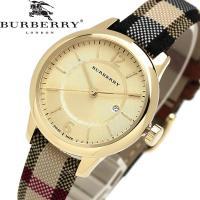 【BURBERRY】 バーバリー 腕時計 レディース クオーツ 5気圧防水 デイトカレンダー スイス...