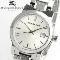 【BURBERRY】 バーバリー 腕時計 レディース シルバー メタル BU9100 クラシックなデ...
