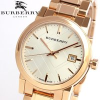 【BURBERRY】 バーバリー 腕時計 レディース ピンクゴールド メタル BU9104 クラシッ...