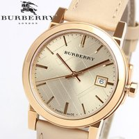 【BURBERRY】 バーバリー 腕時計 レディース ピンクゴールド レザー BU9109 クラシッ...