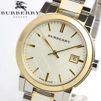 【BURBERRY】 バーバリー 腕時計 レディース ゴールドコンビ メタル BU9115 クラシッ...