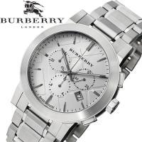 【BURBERRY】 バーバリー 腕時計 メンズ クオーツ 5気圧防水 クロノグラフ スイス製 BU...
