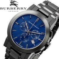 【BURBERRY】 バーバリー 腕時計 メンズ クオーツ 5気圧防水 デイトカレンダー クロノグラ...