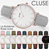 CLUSE クルース 腕時計 レディース 革ベルト レザー ウォッチ La Boheme ラ・ボエー...