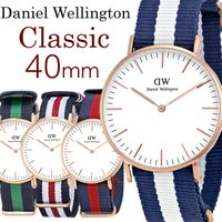 【Daniel Wellington】 ダニエルウェリントン 腕時計 メンズ 40mm NATOベル...