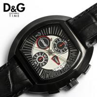 D&G ドルチェ&ガッバーナ HIGH SECURITY メンズ腕時計 クロノグラフ DW0214有...
