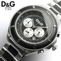 クロノグラフ 腕時計 メンズ D&G ディーアンドジードルチェ&ガッバーナ ドルガバ DOLCE&G...