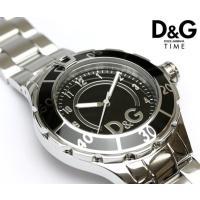 D&G ドルチェ&ガッバーナ メンズ レディース メタル ブラック腕時計 DW0511 シックなブラ...