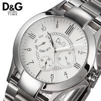 D&G テキサス ホワイト マルチファンクション メンズ レディース 腕時計 DW0538 シックな...