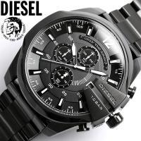 ディーゼルDIESEL腕時計 メンズ ブラック DZ4283 メガチーフ人気モデルが進化を遂げた!ク...