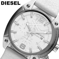 【DIESEL】ディーゼル クオーツ オーバーフロー クロノグラフ 腕時計 メンズ 10気圧防水 D...