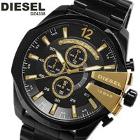 ディーゼル DIESEL メンズ 腕時計 クロノグラフ DZ4338 ブラック×ゴールド人気モデルが...