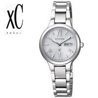 CITIZEN XC 腕時計 レディース エコ・ドライブ デイデイト EW3220-54A アクティ...