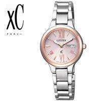 CITIZEN XC 腕時計 レディース エコ・ドライブ デイデイト EW3224-53W アクティ...