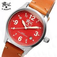 【IL BISONTE イルビゾンテ】メンズ レディース ユニセックス 腕時計 時計 イタリア製天然...