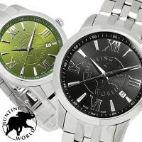 【HUNTING WORLD・ハンティングワールド】 腕時計 メンズ スイス製 5気圧防水 HW92...
