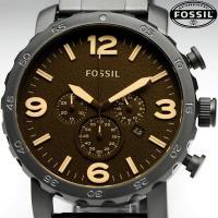 FOSSIL フォッシル メンズ ウォッチ Men's 腕時計 クロノグラフ JR1356 マットブ...
