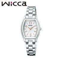 CITIZEN WICCA シチズン ウィッカ BASIC ソーラーテック レディース腕時計ときめく...