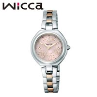 CITIZEN WICCA シチズン ウィッカ GIRLISH ソーラーテック電波 レディース腕時計...