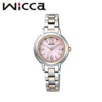 CITIZEN WICCA シチズン ウィッカ BASIC ソーラーテック電波 レディース腕時計とき...
