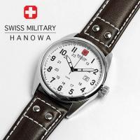 スイスミリタリー SWISS MILITARY 腕時計 レザーバンド メンズ MILITARY-30...