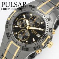 【SEIKO PULSAR】パルサー セイコー 腕時計 逆輸入モデル クロノグラフ メンズ 100M...