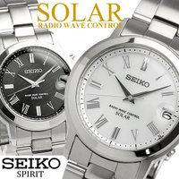 【SEIKO】 セイコースピリット ソーラー電波腕時計 メンズ メタル 国内正規品 時計の原点に戻り...