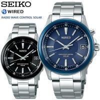 【SEIKO WIRED】 セイコー ワイアード ニュースタンダードモデル ソーラー電波腕時計 メン...