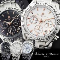 サルバトーレマーラ Salvatore Marra クロノグラフ メンズ腕時計 SM12135 あの...