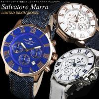 【Salvatore Marra】 サルバトーレマーラ 腕時計 メンズ クロノグラフ SM15104...