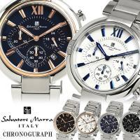 【Salvatore Marra】 サルバトーレマーラ 腕時計 メンズ クオーツ 10気圧防水 クロ...