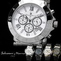 Salvatore Marra Italy エレガント クロノグラフ 腕時計 あの腕時計ランキング上...