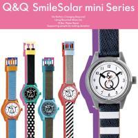 Q&Q Smile Solar スマイルソーラーミニ 腕時計 メンズ レディース ウォッチ ...