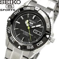 【SEIKO5 SPORT】 セイコーファイブスポーツ 腕時計 メンズ 自動巻き 10気圧防水シース...