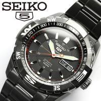 【SEIKO5 SPORTS/セイコー5 スポーツ】 腕時計 ウォッチ 自動巻き メンズ SNZJ1...