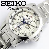 【SEIKO/セイコー】 腕時計 メンズ プルミエ Premier メンズ クロノグラフ パーペチュ...