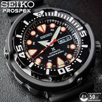 SEIKO セイコー プロスペックス ダイバーズ50周年記念 自動巻き 200M防水 腕時計 メンズ...