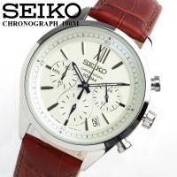 SEIKO セイコー クロノグラフ メンズ 腕時計 SSB157P1 セイコーの人気のクロノグラフ腕...